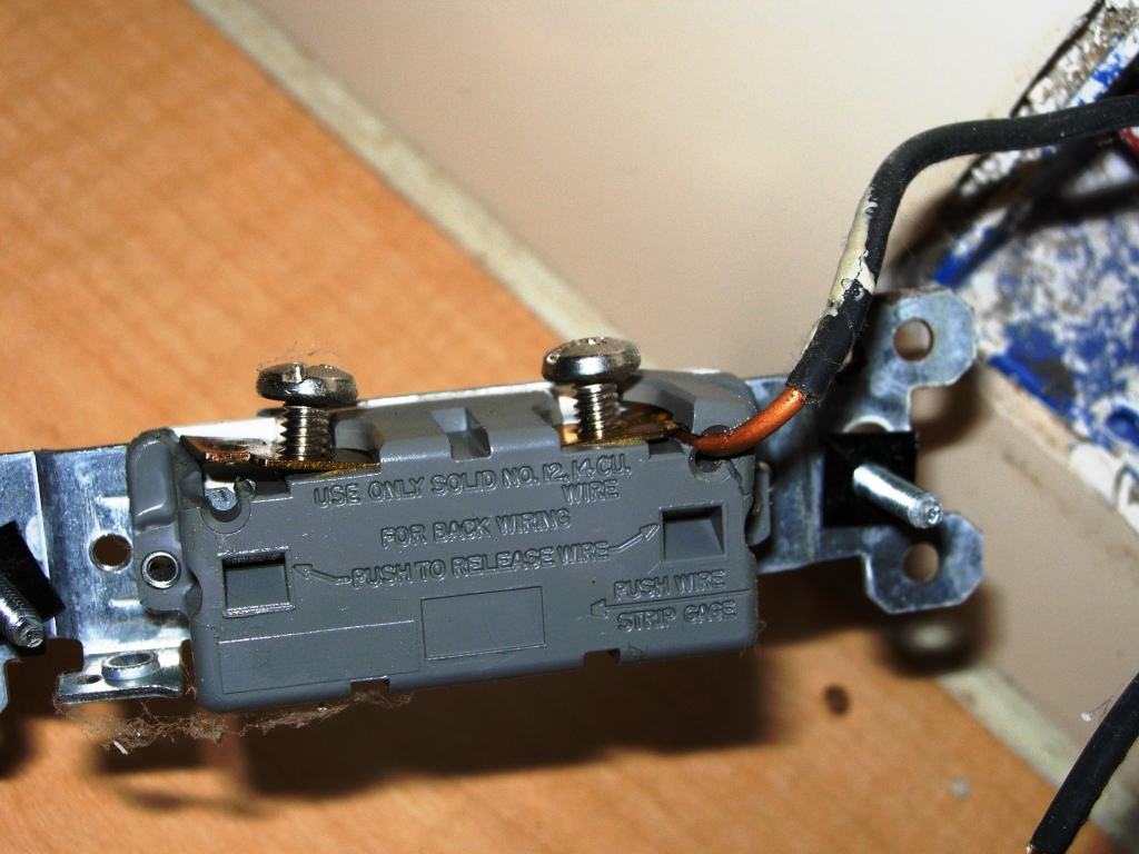 Back-Stab Switches and Receptacles | HandyHomeowner